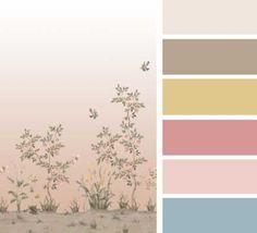 Colores 2 diseño #Chinella de #SophiaPega Colour Pallette, Colour Schemes, Color Combinations, Color Lila, Find Color, Color Balance, Design Seeds, Season Colors, Color Theory
