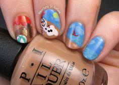 The Digit-al Dozen DOES Summer, Day 3: Olaf In Summer!