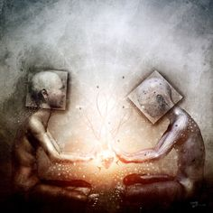 The Body And The Self | Parable Visions Art By Cameron Gray