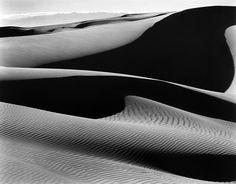 Edward Weston - Dunes, Oceano, 1936 / Silver Gelatin Print - x Edward Weston, Photography Pics, Amazing Photography, Guitar Photography, Landscape Photography, Black White Photos, Black And White Photography, Elements Of Design Shape, Henry Westons