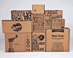 Image result for graphic design craft style packaging