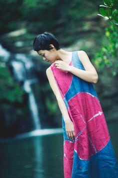ヨーガンレール: 板締めドレス