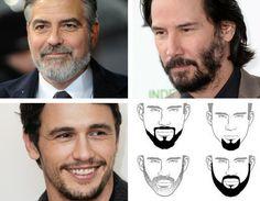 Los rostros ovalados se ven bien con casi cualquier tipo de #barba, pero se recomienda llevar un corte de cabello que no tape la frente