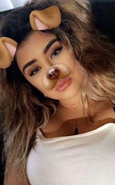 Snapchat filters makeup
