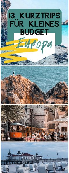 Short trips in Europe for a small budget - DIY Valentine& Day city trip on Valentine& Day, short trips in Europe, trips on Valenti - Cool Places To Visit, Places To Travel, Travel Destinations, Places To Go, Travel Images, Travel Photos, Europa Tour, Road Trip Europe, Reisen In Europa