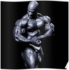 Poster A3 Ronnie Coleman Motivational Bodybuilding Trainer Weigth Gym Sport 01