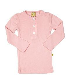 Blush Thermal Merino Organic Henley - Infant & Kids by Nui Organics on #zulily today!