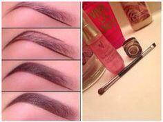 Use mineral pigments and rosewater to sculpt the perfect eyebrow.