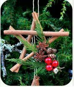 Cinnamon stick star