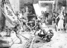 greeks turk massacre  by italian artist Pisani