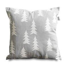 Gray Mountain Pillow