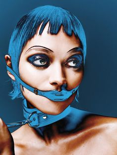 <p>Taking inspiration from legendary fetish club Torture Garden's 25th anniversary this weekend, Hunger beauty editor-at-large Andrew Gallimore and photographer Louie Banks have teamed up to recreate