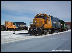 It's another busy February! We witness how Ontario Northland moves a heck of a lot of snow, we check out what's happening at North Bay's Diesel and Refurbishment Shops, we catch a special 999 out of Cochrane for OPG and DeBeers, we're there as local switchers bid a final farewell to Iroquois Falls, and much more as 44 photos have been added to the 2015 Gallery at www.onrgallery.com!