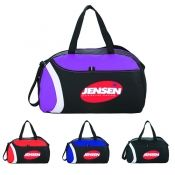 Item   SM-7185 - The Dynamite Custom Duffel. Zippered main compartment. 159714a74e
