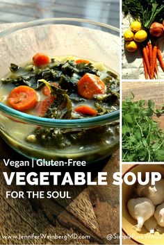 This Hearty Spiced Vegetable #Soup for the Soul can bring everyone around the table! It is simple enough to throw together for a #MeatlesMonday or everyday meal but festive and delicious enough to be featured on your #holiday table! With its warming spices and nourishing veggies, it is the perfect warming, filling dish for cool #autumn days and cold winter nights. #vegan #glutenfree #vegetarian