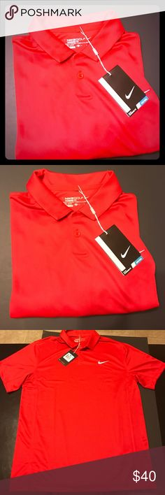 Men's Nike Golf Shirt New with tags, size medium, Nike golf, standard fit, dri fit, 100% polyester Nike Shirts
