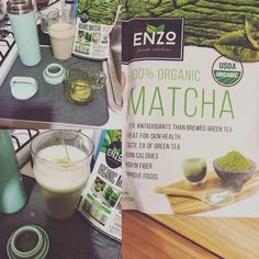 Aha, what about matcha?