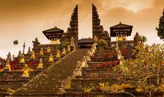 De Pura Besakih tempel, Bali.