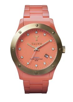 Candy colour watch