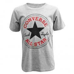36ea70c523c The Converse Kids Chuck Taylor All Star Logo T-Shirt is an All Star  inspired design with a plain body
