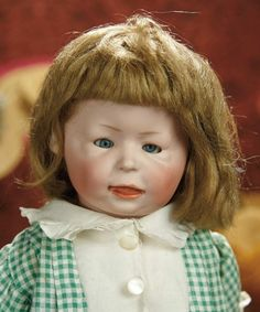 The Memory of All That - Marquis Antique Doll Auction: 246 German Bisque Character, 1428, by Simon and Halbig