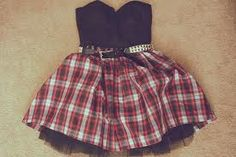 cute emo scene dress, prom maybe? Dope Fashion, Punk Fashion, Grunge Fashion, Fashion Outfits, Womens Fashion, Tartan Fashion, Fashion Sets, Fasion, Dress Outfits