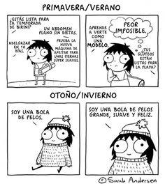 15 dibujos que demuestran que ser chica NO ES FÁCIL :( - Imagen 2