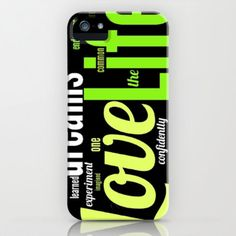 LIFE WOODS iPhone & iPod Case by Chrisb Marquez