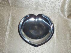 "Nambe Plate, 9 1/2"" Love - MT0008"