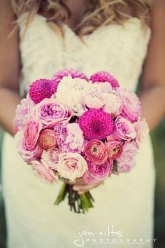 Beautiful bridal bouquet!  It enhances the elegant and classic!