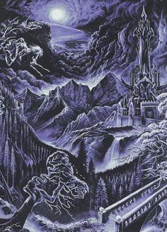 hyborianbabe:  by Kristian Wahlin for Emperor's debut album In...