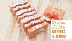 Hacer jabón de manteca de mango
