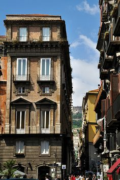 Spaccanapoli, Napoli, Campania, Italy