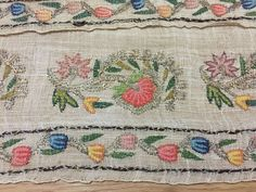 ottoman  embroidery towel great work 8