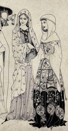 fairy-tale illustrations by Sveta Dorosheva