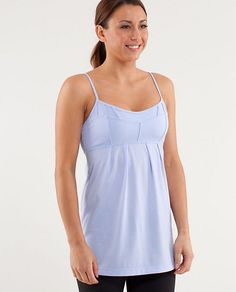Also got this Debut Tank in black. So chic! Wear anywhere :) #lululemon