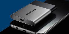 Disco duro de Samsung T3 SSD es muy pequeño y almacena 2TB http://j.mp/1PJmsZr |  #2TB, #Gadgets, #Noticias, #Samsung, #T3SSD, #Tecnología