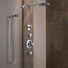 Modern Bathroom By Delta Faucet Rain Shower System Systems Tub And Faucets