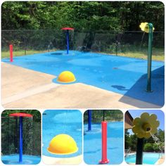 Swim Club in Gardendale, Alabama.  Fun, colorful and most important SAFE water play fun for Summer!!
