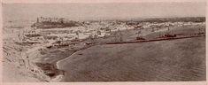 """Puerto de Almería. Fotografía publicada en la revista: """"Gente Conocida: número extraordinario de Almería"""". Año 1 (16 de noviembre de 1900)"""