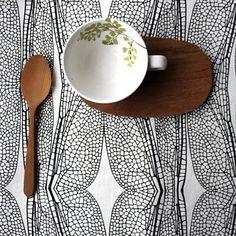 Love Milo on www.salifestylehub.com Love Milo, Cool Cafe, Black And White Design, Decorative Plates, Cool Stuff, Crafts, Inspiration, Ethnic, Lifestyle