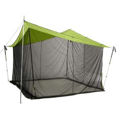Nemo Bugout 12x12 Tent Green  Grey 12x12 -- Visit the image link more details. Note:It is affiliate link to Amazon. #10likes