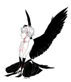 Is this hinata? Drawing Reference Poses, Art Reference, Character Art, Character Design, Angel Drawing, Haikyuu Yaoi, Angels And Demons, Fantasy, Pretty Art