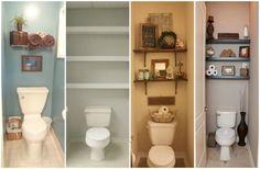 Szép és praktikus ötletek csúnya és pici panel WC felújításához