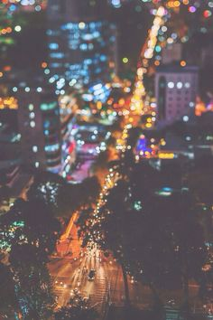 city lights make for the best bokeh Beautiful World, Beautiful Places, Tumblr, Concrete Jungle, Bokeh, Paris, Of Wallpaper, Adventure Is Out There, City Lights