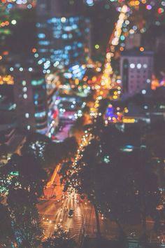 #allthatglitters bright lights
