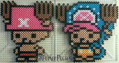 Mini Tony Tony Chopper - One Piece perler beads by PerlerPixie