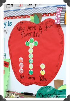 Apple-Palooza {FREEBIES Galore} Apple Activities for your Classroom! Apple week activities including a directed drawing for Johnny Appleseed Preschool Apple Theme, Fall Preschool, Kindergarten Science, Preschool Classroom, Classroom Activities, Preschool Apples, Classroom Ideas, Preschool Themes, Preschool Fingerplays