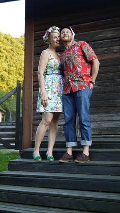 Me & my hubby. The unofficial wedding picture. Ninan verkkareissa - Blogi | Lily.fi