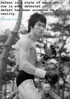 Bruce Lee founder of Jeet Kune Do. Star of 30 movies or so.